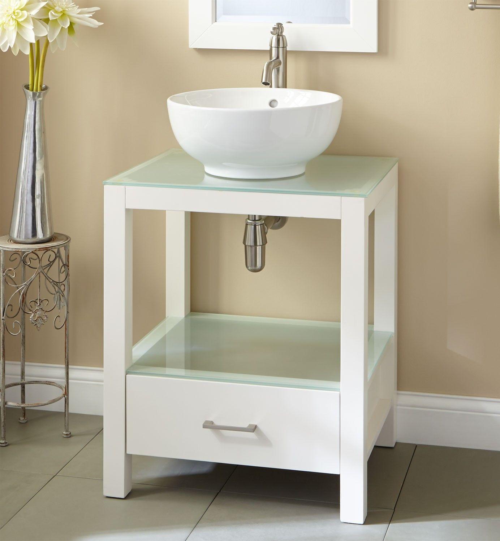 Cheap Vessel Sink Vanity Combo In 2020 Cheap Bathroom Vanities