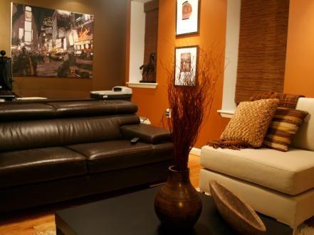 Alex Sanchez S Design Portfolio Living Room Orange Burnt Orange Living Room Living Room Decor Orange