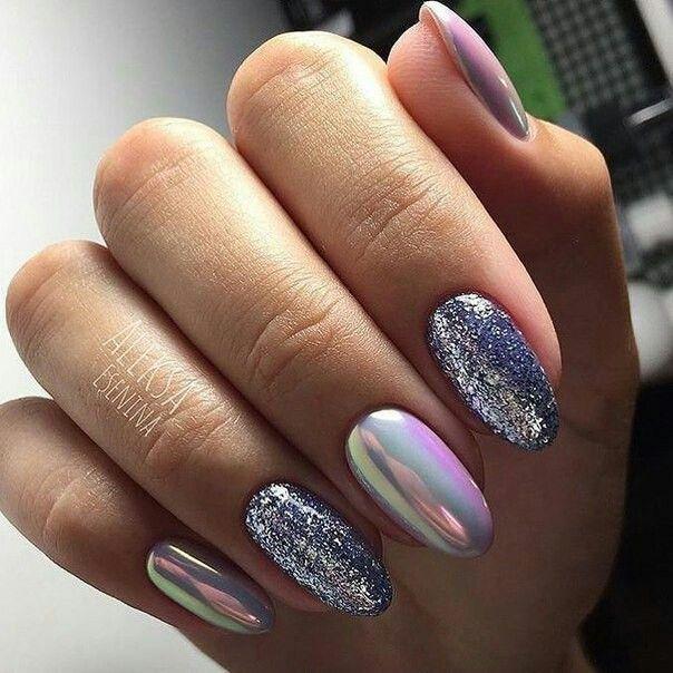 Pin by Marczy Ferrel on uñas Pinterest Manicure, Nail nail and - uas efecto espejo