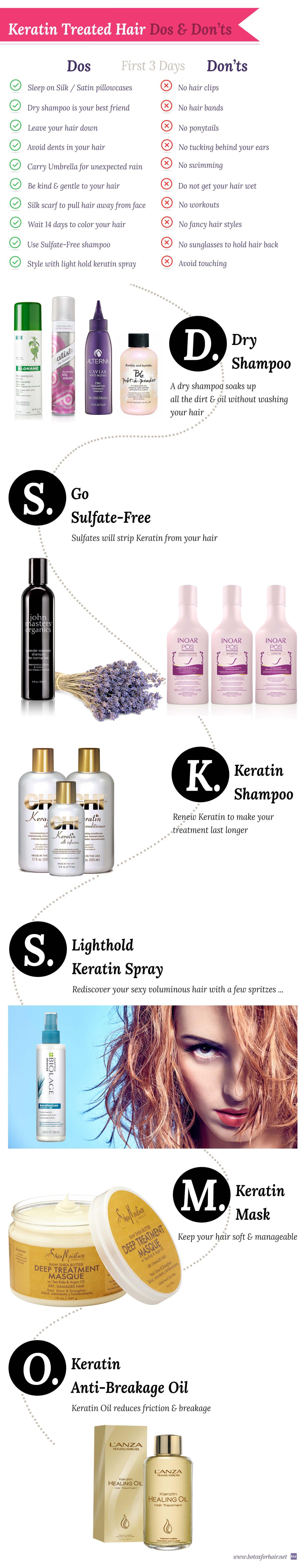 for keratin treated hair