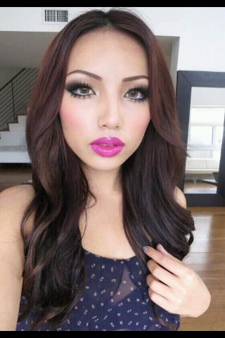 vibrate pink lipstick Makeup artist Promise Phan (not my