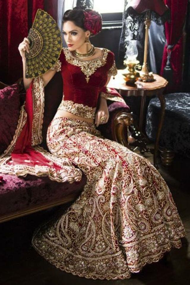 Espanol Indian Bridal Wear Indian Fashion Indian Outfits
