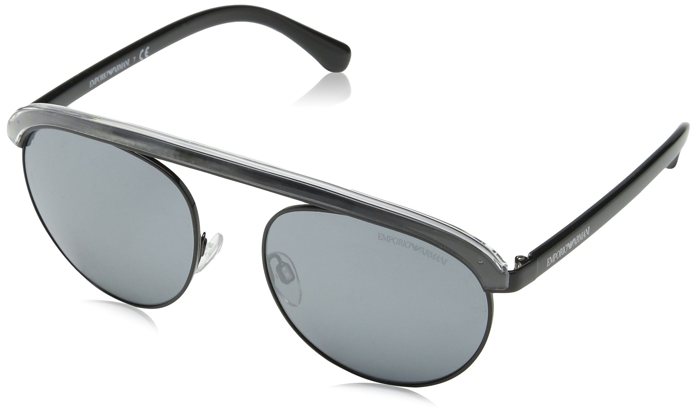 9653c1eb17e83 Emporio Armani EA2035 30146G Black EA2035 Round Sunglasses Lens Category 3  Lens -- See this fantastic item. (This is an affiliate link ).   menssunglasses
