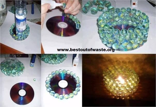 Home decor ideas with waste material.