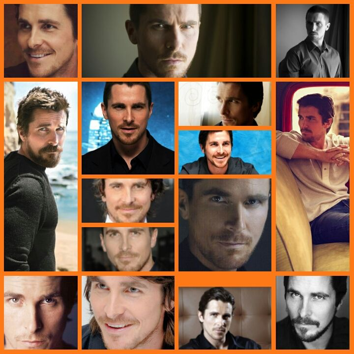 Christian Bale collage