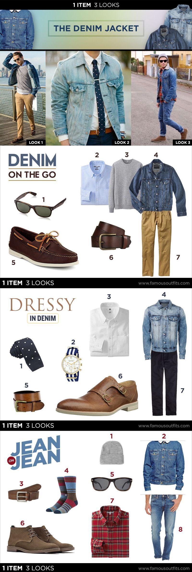 Denim Jacket 1 Item 3 Looks Denim Jacket Styles