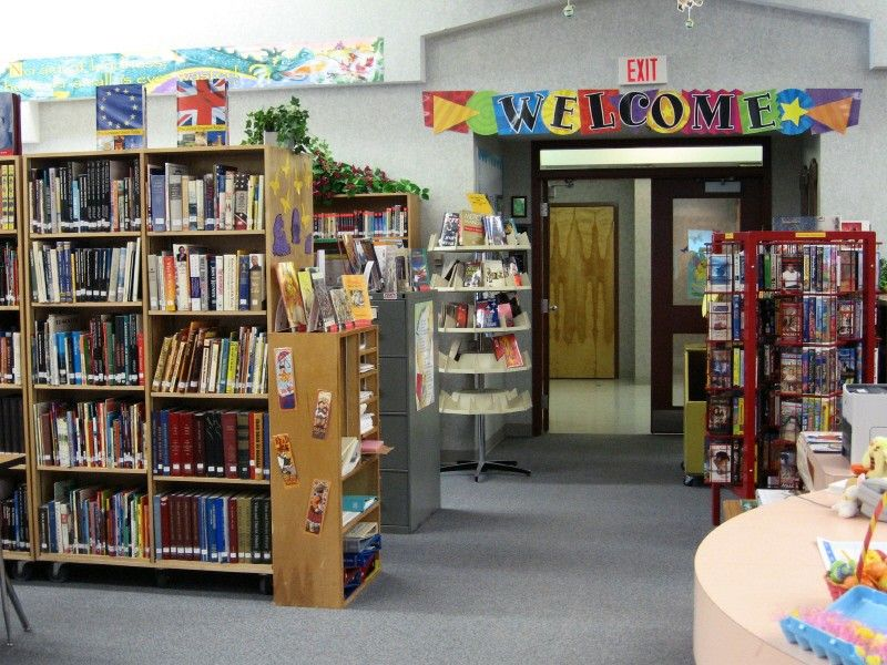 School Library Decorating Ideas The Library Serves Both The