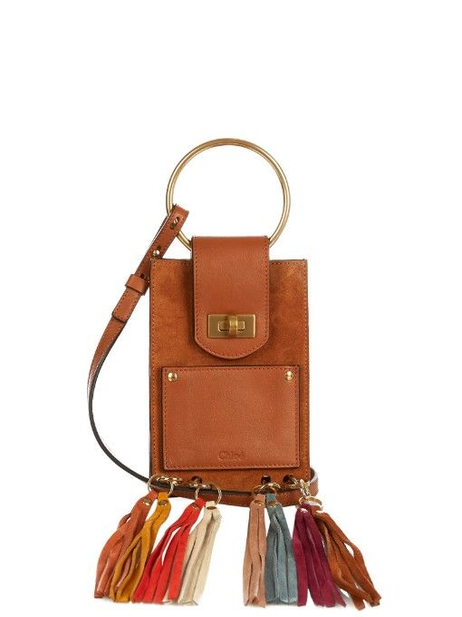 7f0bfef8a0 CHLOÉ Jane Mini Fringed Suede Bag. #chloé #bags #shoulder bags #hand bags  #lace #suede #lining