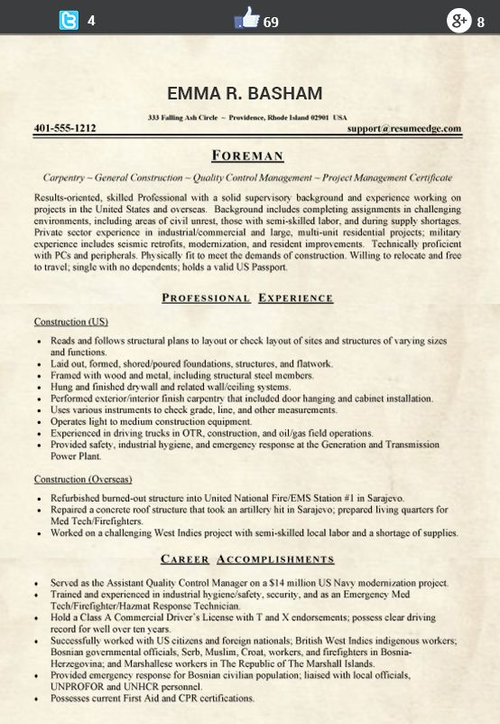 This image presents the functional skills resume. Do you know how to ...