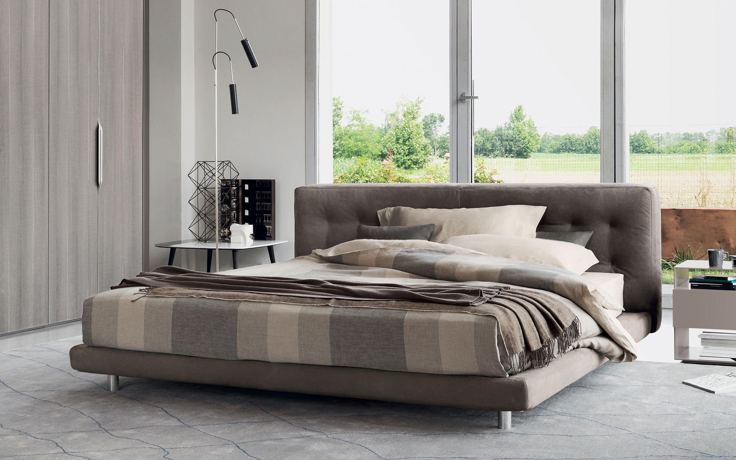 Comfort, benessere ed eleganza senza tempo . Il nostro letto matrimoniale Doze    http://www.flou.it/it/products/beds/doze_94  Comfort and elegance. Our bed Doze  Design by Rodolfo Dordoni  #bed #beds #flou #homedecor #home #design #comfort