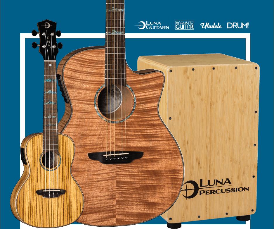 Win This Massive Luna Gear Bundle Guitar Acoustic Ukulele