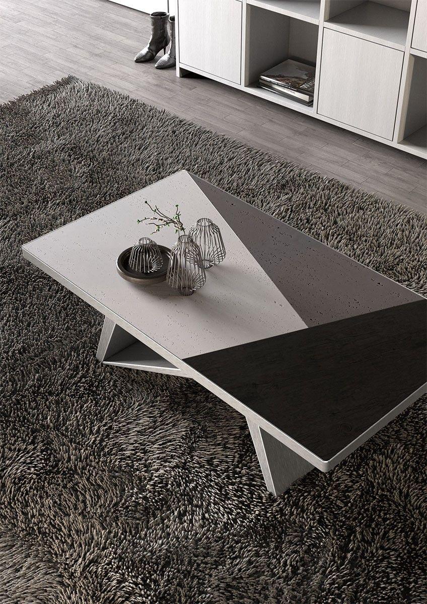 Best Concrete Black Oak Coffee Table 400 x 300
