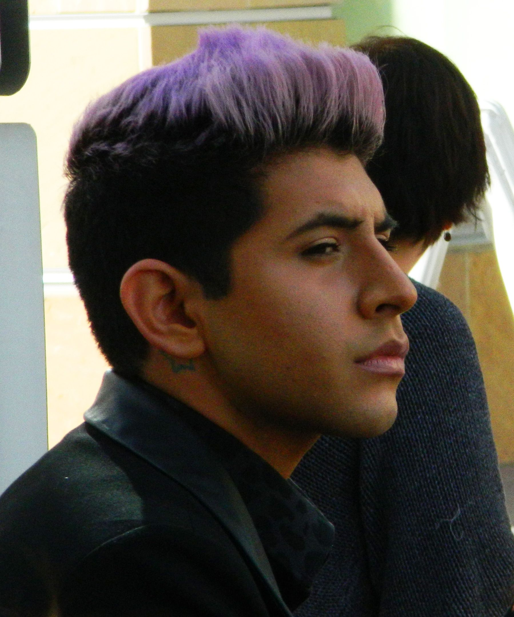 Dscn4332 Jpg 1798 2157 Purple Hair Mens Hairstyles Summer Hairstyles