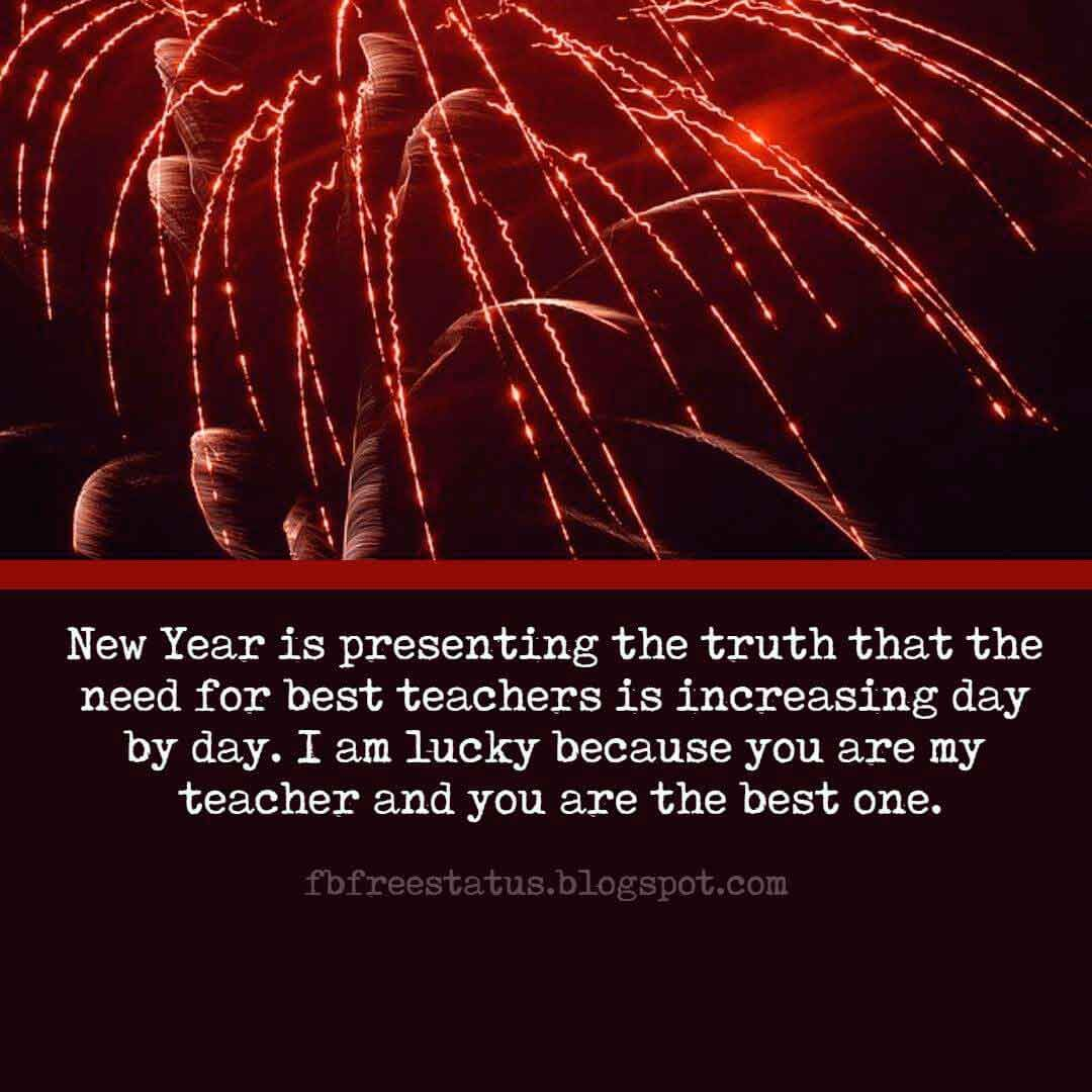 new year wishes for teacher and new year messages for teacher with images