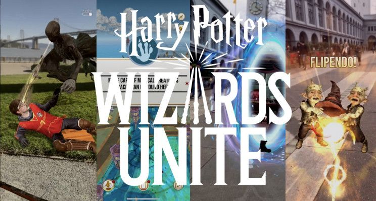 Niantic S Harry Potter Wizards Unite Is A Sorcerous Smorgasbord For The Pokemon Go Generation Techcrunch Harry Potter Wizard Niantic Harry Potter Games