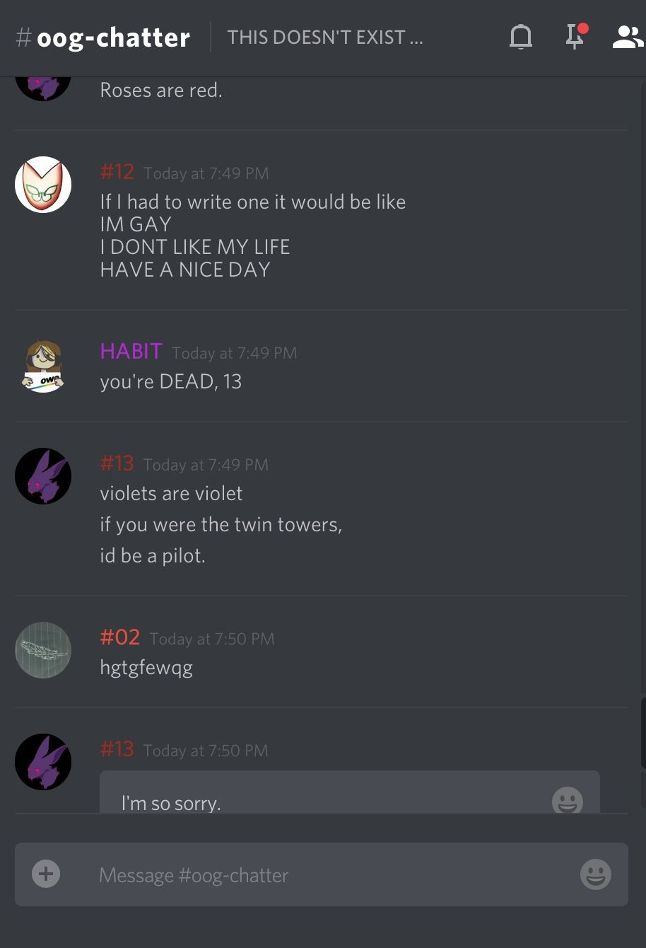 Pin By Marcelo De On Memes Discord Chat Funny Memes Creepypasta