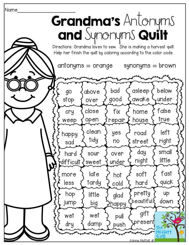 2nd Grade synonyms and antonyms worksheets 2nd grade : A FUN way to review antonyms and synonyms! | Elementary Education ...