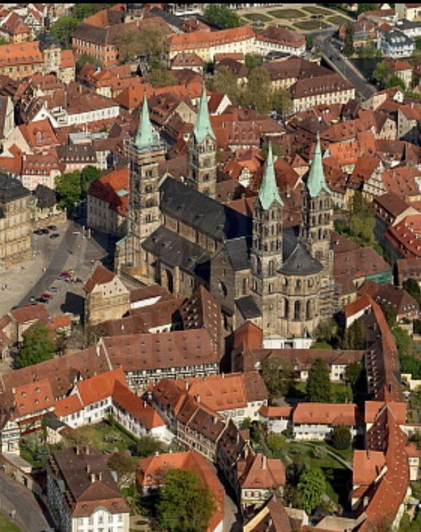 Bamberg Von Oben Germany Travel Bamberg Germany