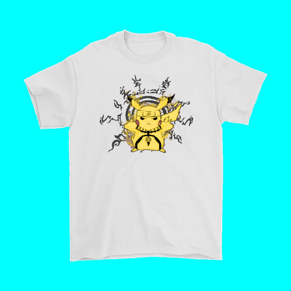 Sage Pikachu Sage Mode Naruto Pokemon Mashup Shirts In