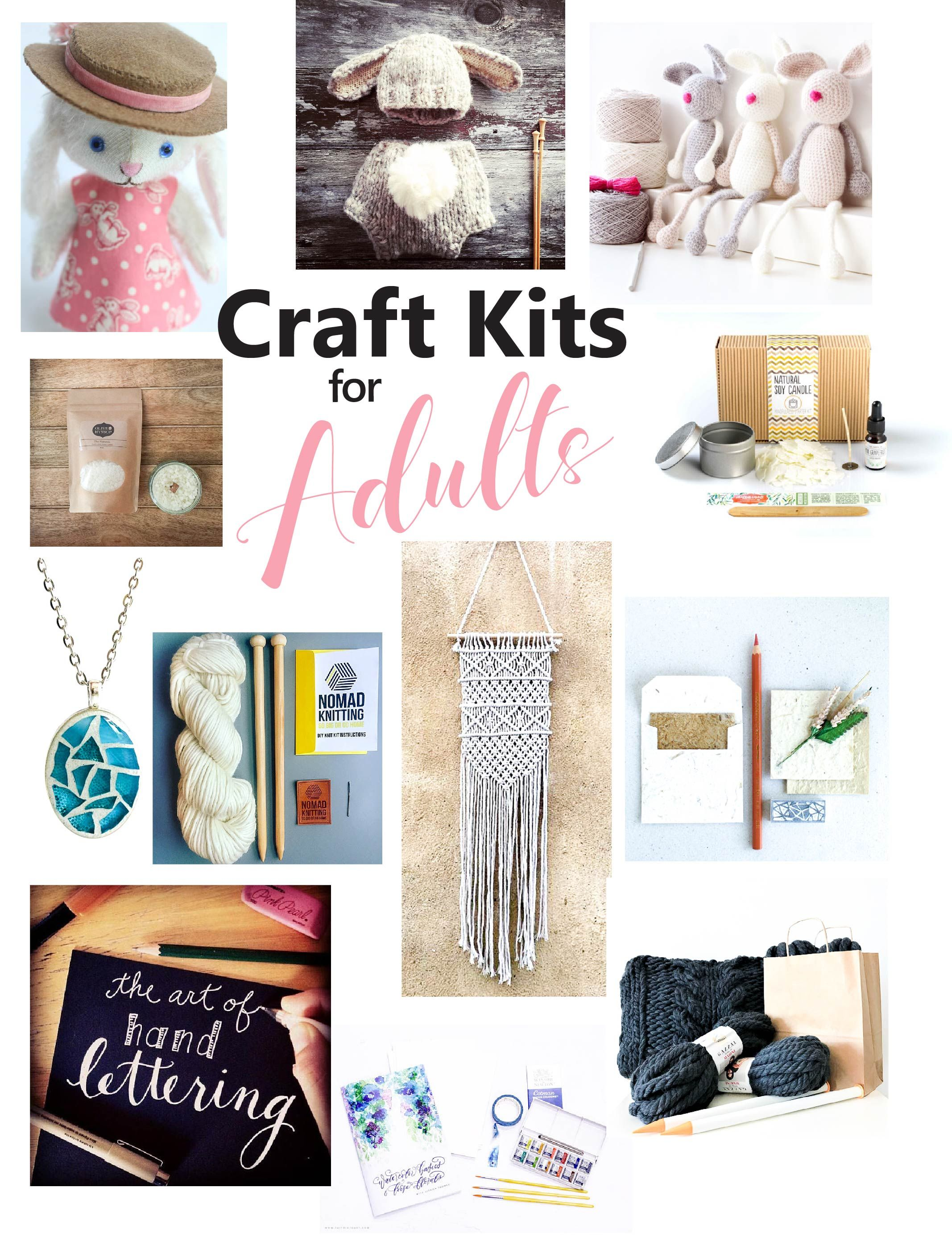 The Best Craft Kits for Adults Diy crafts for adults