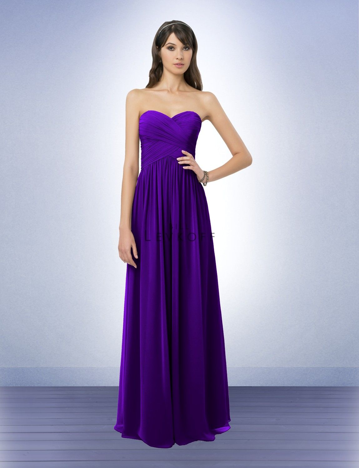Bridesmaid Dress Again I Love This Idea Of Royal Purple As A Wedding Color