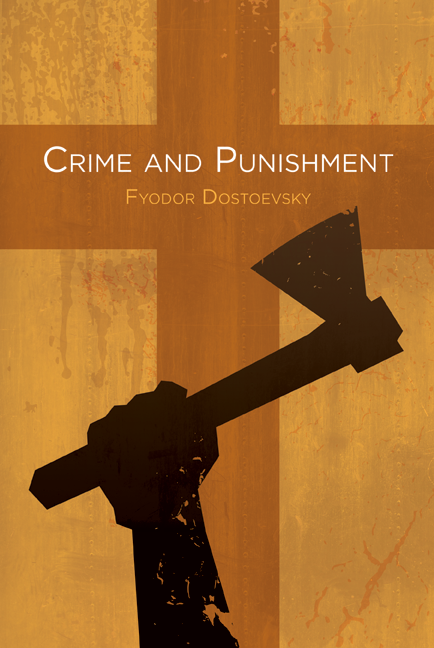 Image result for crime and punishment book cover