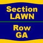 #Ticket  5 Tickets Blink 182 8/12/16 at BB&T Pavilion  LAWN GA #deals_us