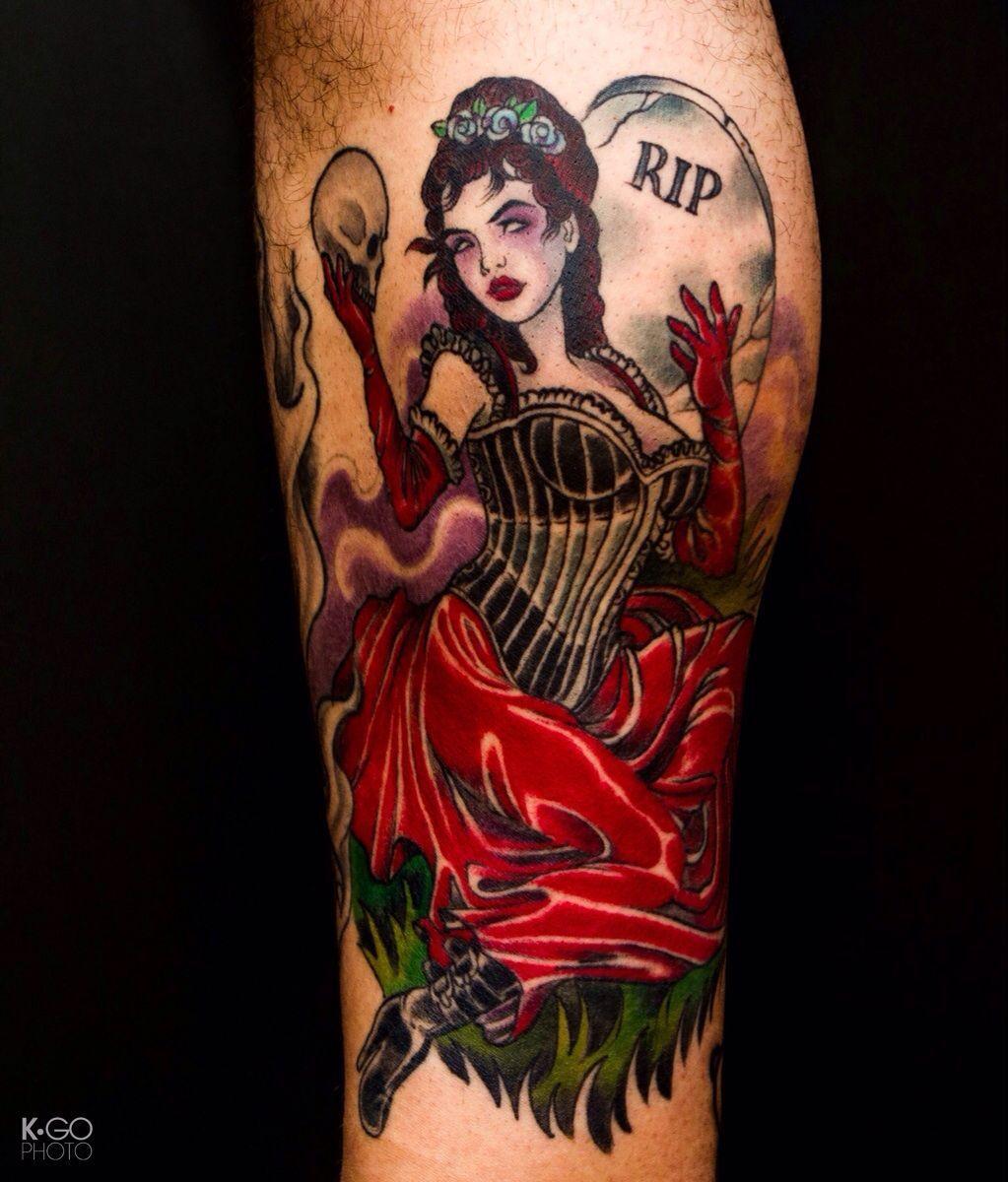 40 Mysterious Victorian Tattoos Victorian tattoo, Dark