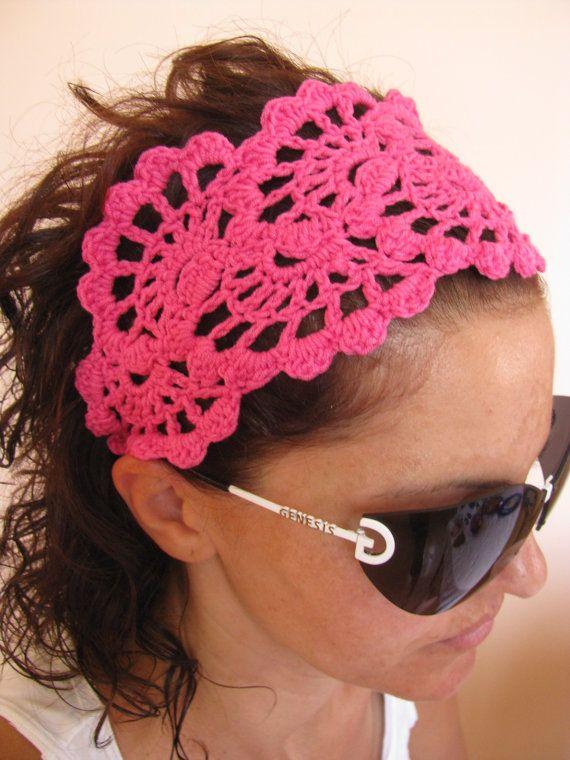CROCHET PDF Pattern crochet headband | Crochet | Pinterest | Diadema ...