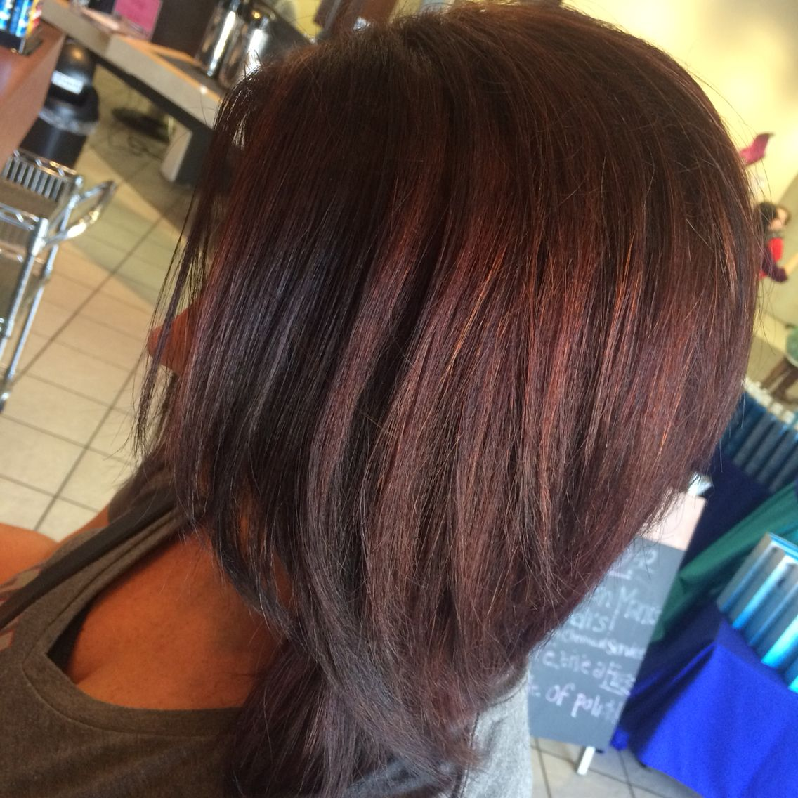 Cocoacinnamonredhairfallhairbrownhairhairstyle for the love of