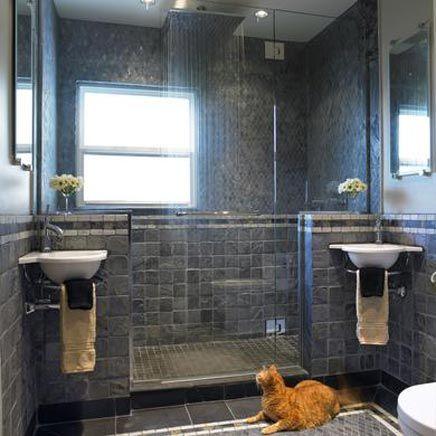 Badkamers voorbeelden met inloopdouche | Huis | Pinterest ...