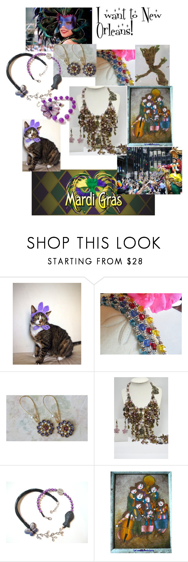 I want to New Orleans! by varivodamar on Polyvore featuring мода and rustic