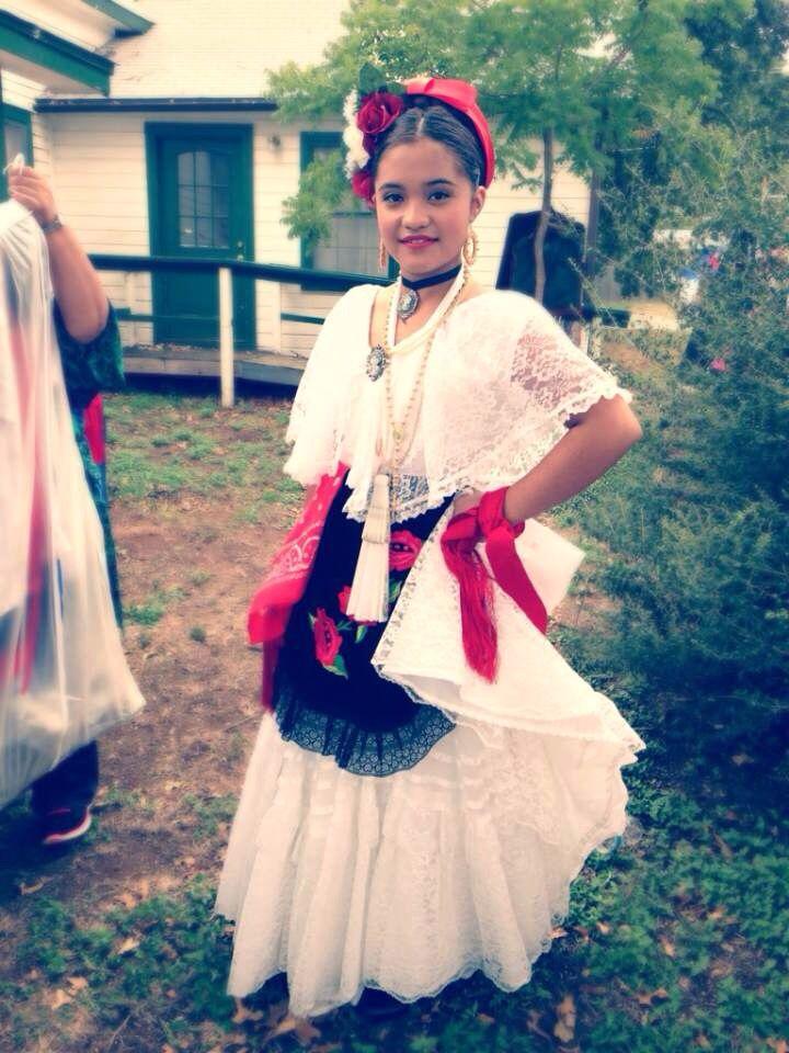 1f52ea3bd Veracruz dress   folklorico culture hispanic Vestidos Mexicanos