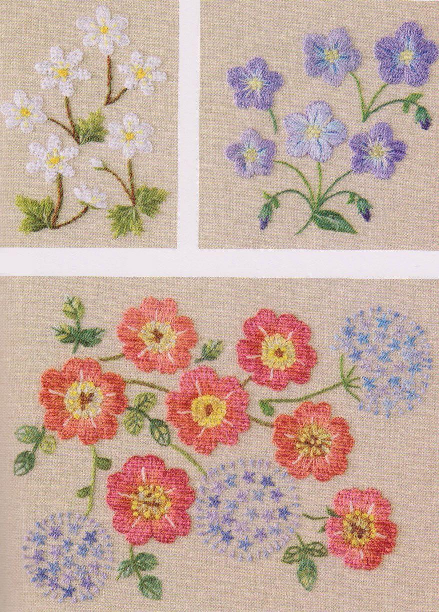 Pin De Harvey Em Stitching Embroidery Flores De Bordados Padroes De Bordado Projetos De Bordados A Mao