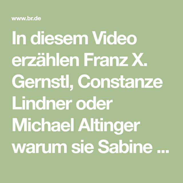 Biografie sabine sauer 🎬 Sabine