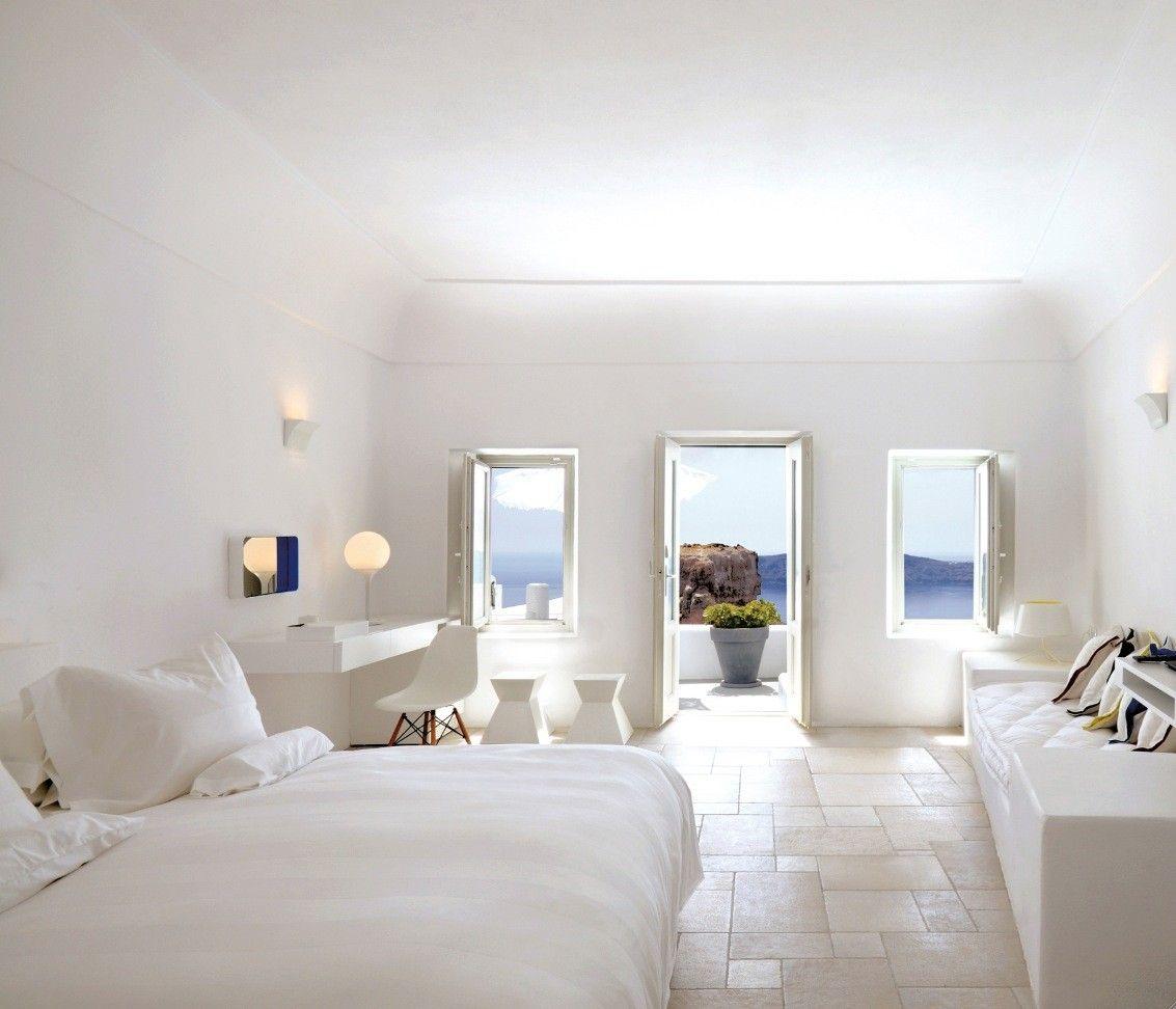 41 White Bedroom Interior Design Ideas & Pictures | Balconies ...