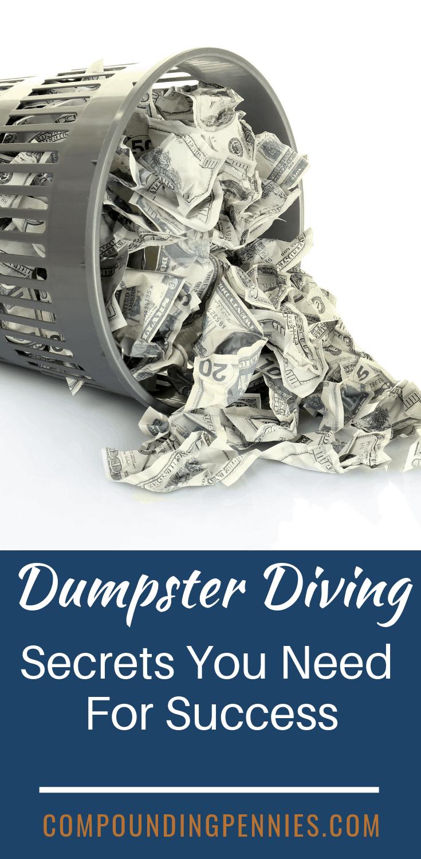 Frugal Dumpster Diving : frugal, dumpster, diving, Dumpster, Diving, Secrets, Massive, Profits, Frugal, Person,, Diving,, Dumpster,, Diver