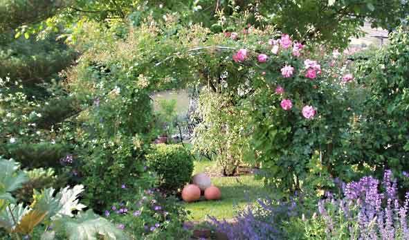 verwunschener garten - Romantische Garten Gestalten