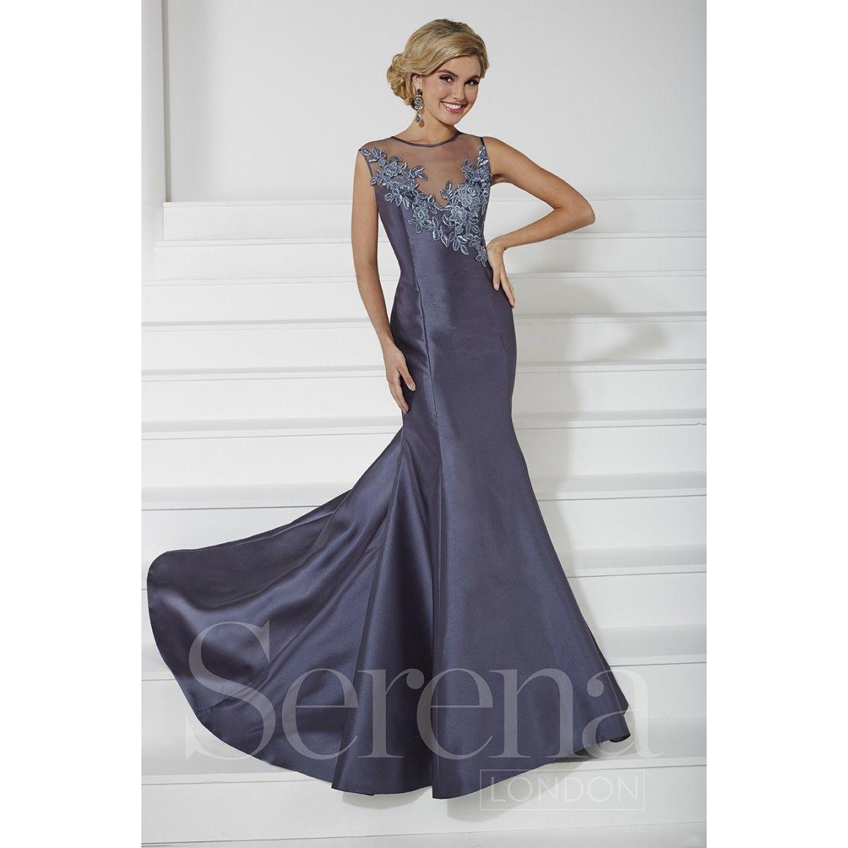 Excepcional Vestido De Fiesta Blanco Serena Ideas Ornamento ...