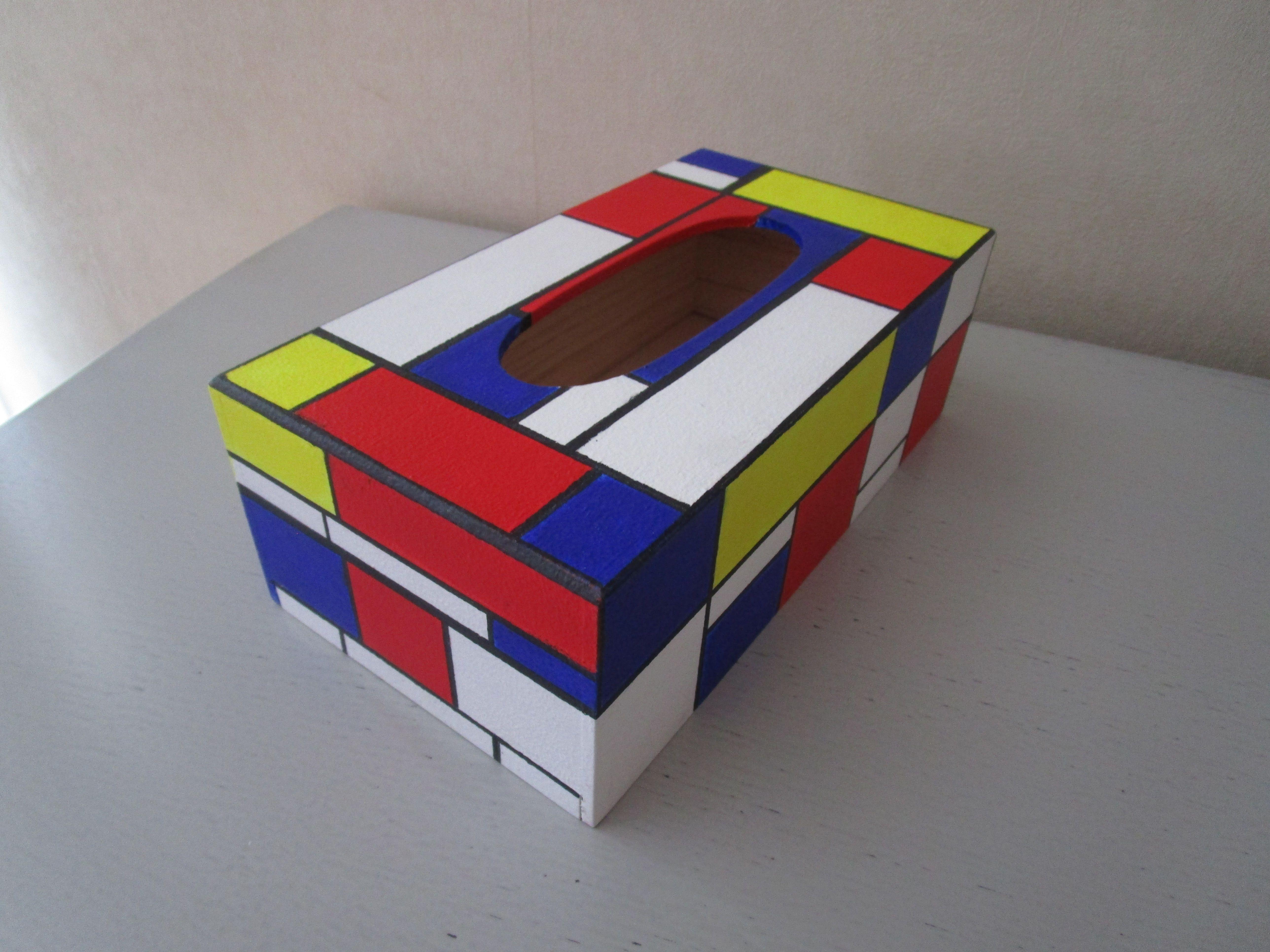 boite style Mondrian