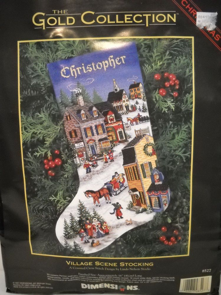 Dimensions Christmas Stocking Kits.Pin On Cross Stitch