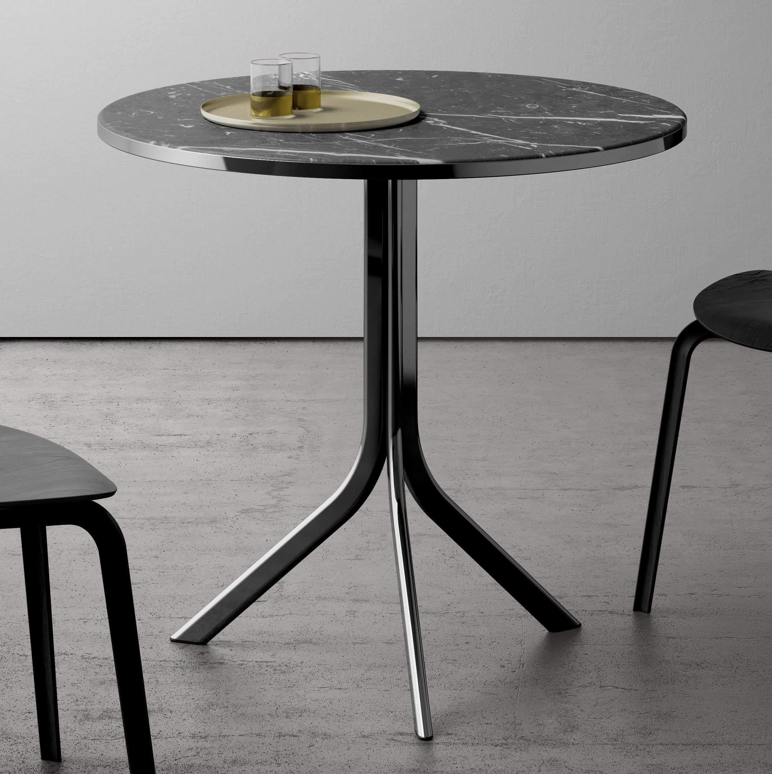Bistro Marble Table By Retegui Design Jean Louis Iratzoki Furniture Dining Table Bistro Dining Table Coffee Table