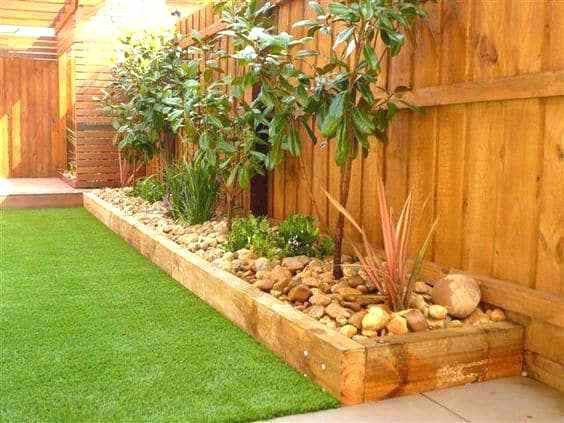 Wooden Flower Bed Borders Wood Flower Bed Edging Crafty Ideas Wooden
