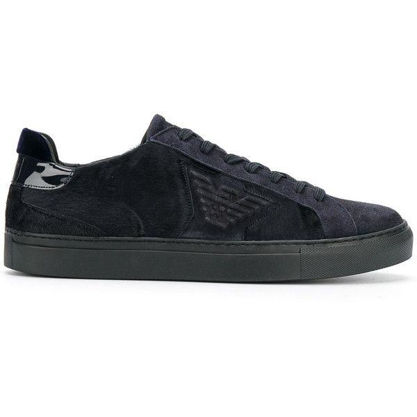 logo sneakers - Blue Emporio Armani gkIulLY