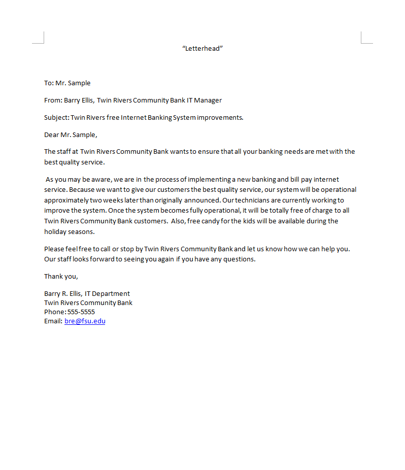 Business letter template bad news sample more indirect examples business letter template bad news sample more indirect examples amazon images spiritdancerdesigns Choice Image