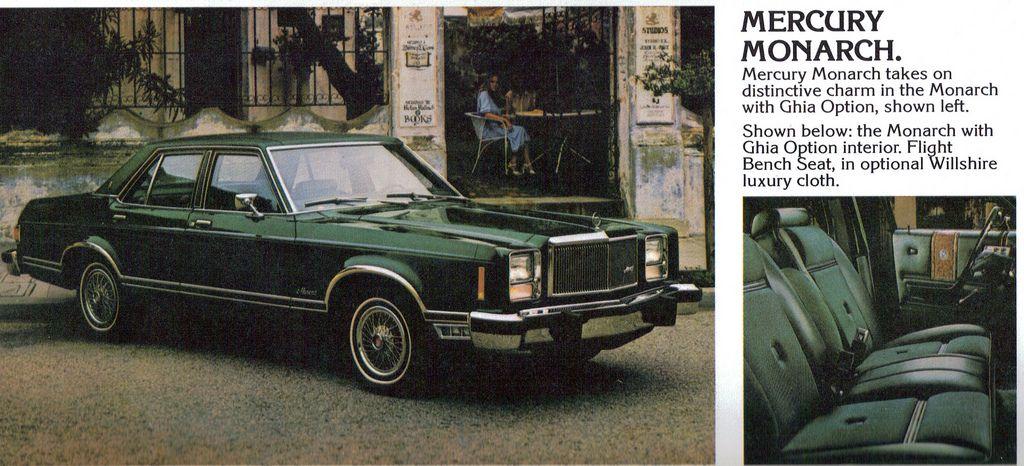 1979 Mercury Monarch Ghia 4 Door Sedan By Coconv Sedan Ford Granada Mercury
