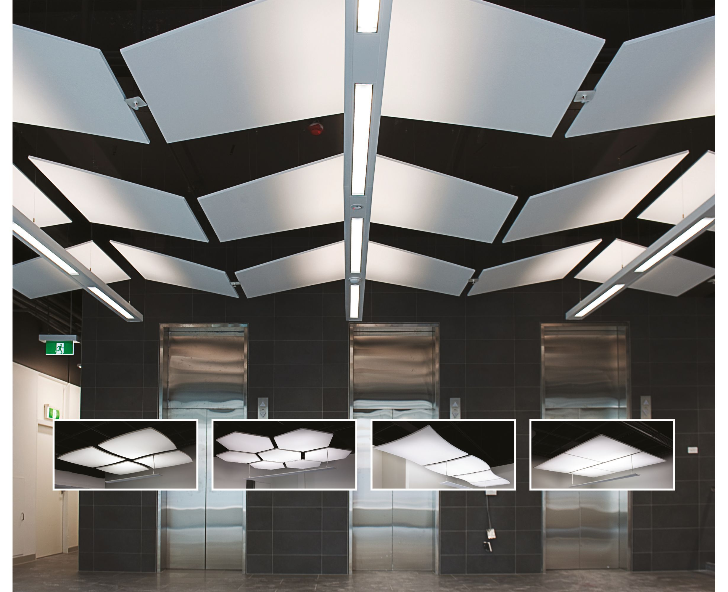 Commercial Ceilings Hexagon Clouds Amp Canopies