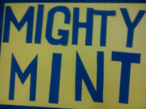 Mightyyyyyy Miiiiinnnnnnttttttttttt #EmergeMINT!!!