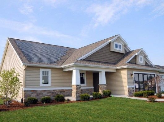 The Dow Chemical Company And Cobblestone Homes Have Introduced Michigan S First Affordable Net Zero Energy Home House System Solar Shingles Solar Power Options
