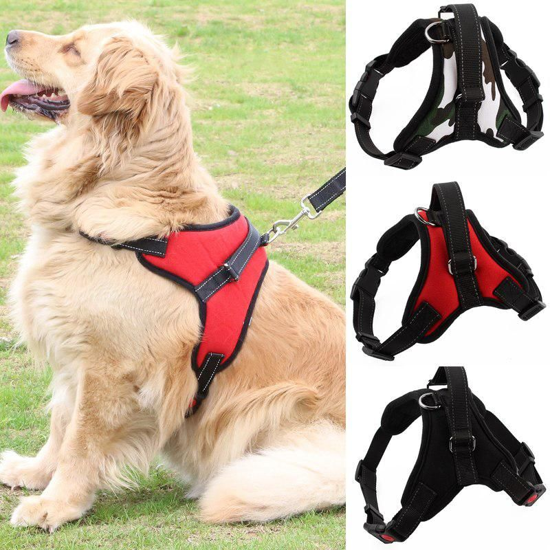 New Arrival Comfortable Pet Dog Harness Matched Leashes Adjustable
